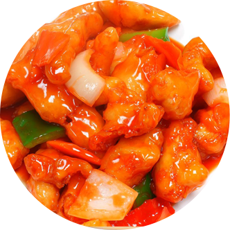 34. Sweet & Sour Chicken Balls (10)
